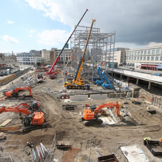 Drake Circus, Plymouth, Construction Site, British Land, Regeneration